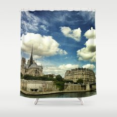 From the river Seine Shower Curtain
