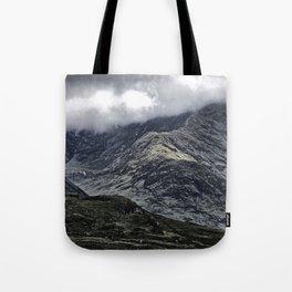 Glencoe in Scottish Highlands. Tote Bag