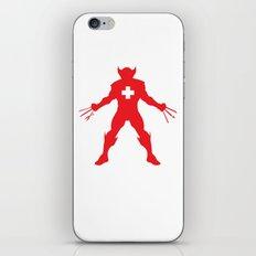 Weapon-Swiss iPhone & iPod Skin