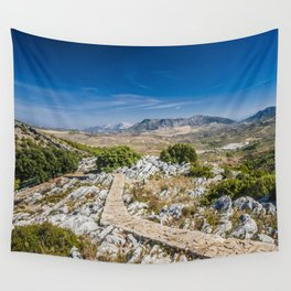 Empty path - Spain Wall Tapestry