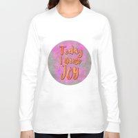 joy Long Sleeve T-shirts featuring Joy    by LebensART