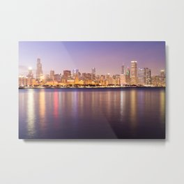 Sweet Dreams Chicago Metal Print