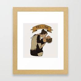 """"""" PAL love """" Framed Art Print"""