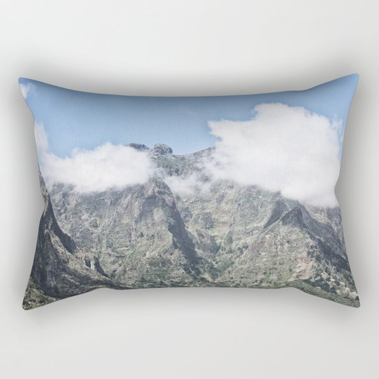 Mountain Madeira 5 Rectangular Pillow