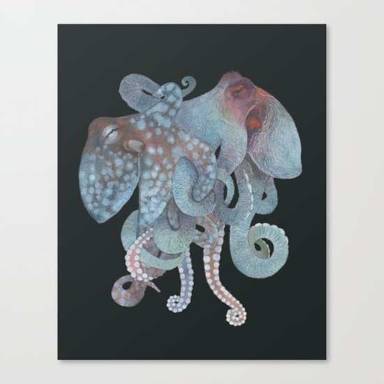 Tangled No. 1 Canvas Print