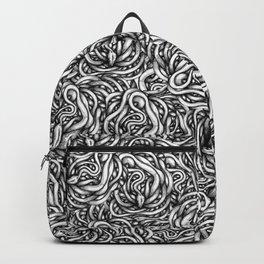 Infinite Snake Pattern Backpack