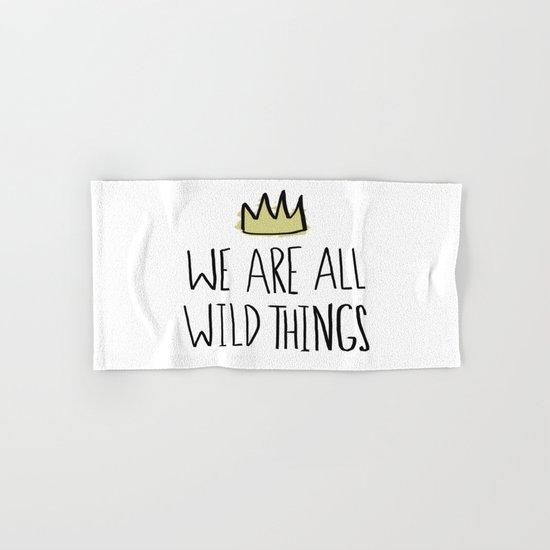 Wild Things Hand & Bath Towel