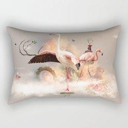 Flamingo land Rectangular Pillow