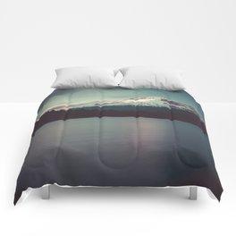 Sunset at Trillium Lake Comforters