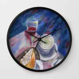The Perfect Meal Wall Clock
