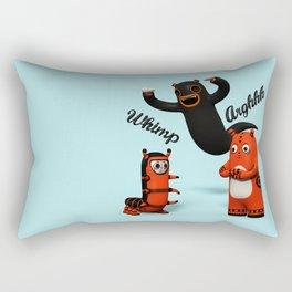Sniff and Boo Rectangular Pillow