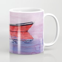 Red Dory Reflections Coffee Mug
