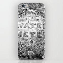 Water Meter iPhone Skin