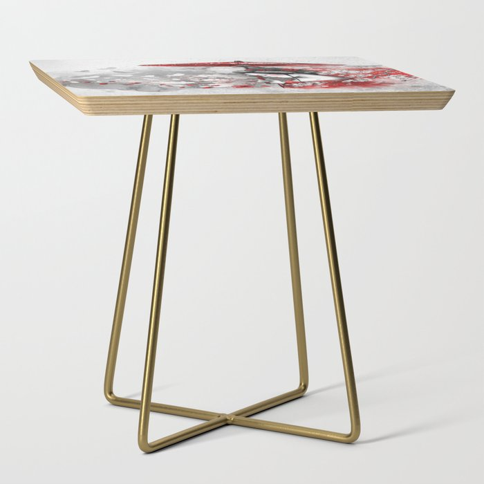 Falling blossoms Side Table