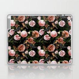 Vintage & Shabby Chic - Blush Camellia & Kingfishers Laptop & iPad Skin