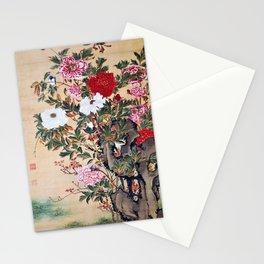 Ito Jakuchu - Peony - Digital Remastered Edition Stationery Cards