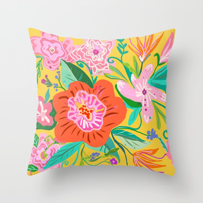 My Mexicali Rose Throw Pillow