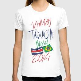 VAMOS TIQUICIA  T-shirt