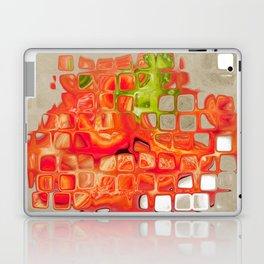 Abstract Orange Laptop & iPad Skin