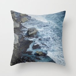 Uluwatu Waters Throw Pillow