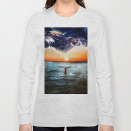 A whale and a morning Long Sleeve T-shirt