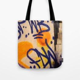 sunset graffitti nyc Tote Bag