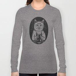 Thirsty Cat Long Sleeve T-shirt