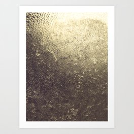 Gold Honey Art Print