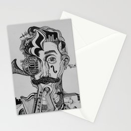 señor syncopation Stationery Cards