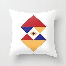 T R I | Eye Throw Pillow