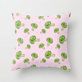 Totally Broccoli Throw Pillow
