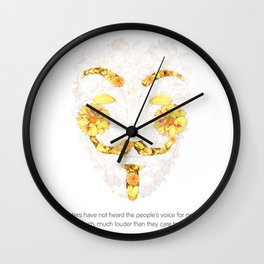 Our Voice Wall Clock