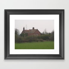English Countryside Framed Art Print