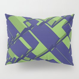 3D Abstract Futuristic Background III Pillow Sham