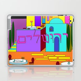 Jerusalem Time Between the Stars Laptop & iPad Skin