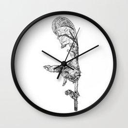 Wilted Leaf Wall Clock