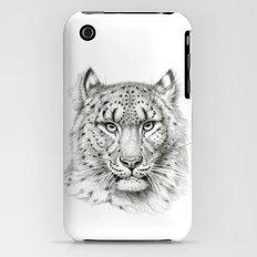 Snow Leopard SK040 iPhone (3g, 3gs) Slim Case