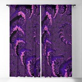 Groovy Fractal Blackout Curtain