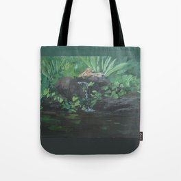 Fountain at the Zoo AC151223b-13 Tote Bag