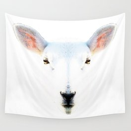 The White Sheep By Sharon Cummings Wall Tapestry