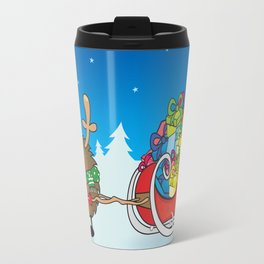rudolph the red nosed hedgehog Travel Mug