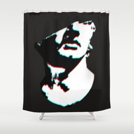 Giving Head Shower Curtain
