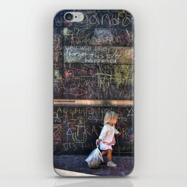 Taking my Chalk and Going Home iPhone Skin