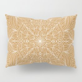 Luscious Mandala in mustard yellow Pillow Sham