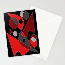 Abstract #311 Stationery Cards