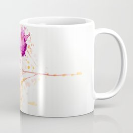 Blot Flowers Coffee Mug