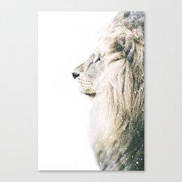 NORDIC LION Canvas Print