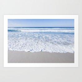 Ocean Layers  Art Print