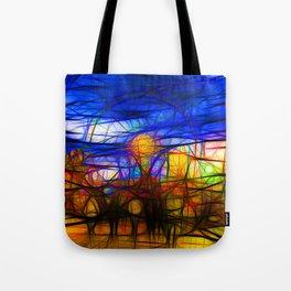 Fairground Tote Bag