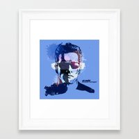 terminator Framed Art Prints featuring Terminator by BIG Colours